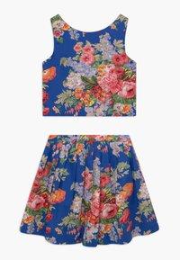 Polo Ralph Lauren - FLORAL SET - A-line skirt - blue/multicolor - 1