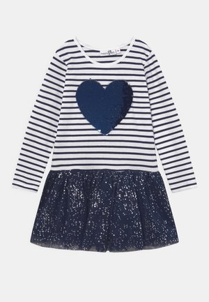 SEQUIN SPECIAL STYLE - Jerseykjole - navy