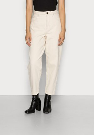 TINEBOROW - Relaxed fit jeans - ecru