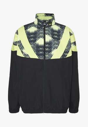 GRAPHICS SPORT INSPIRED TRACK TOP - Training jacket - black