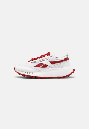 LEGACY UNISEX - Sneakers - white/flash red