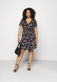 Simply Be - DRESS - Jersey dress - black - 1