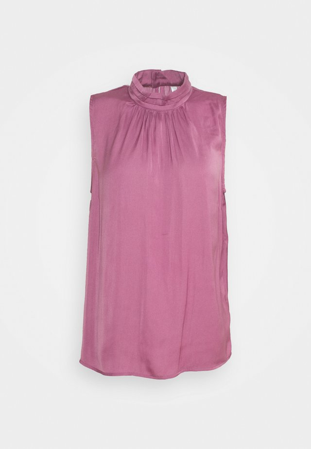 PAMELA  - Blůza - dark pink rose