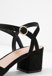 New Look Wide Fit - WIDE FIT SAMIRA - Tacones - black - 2