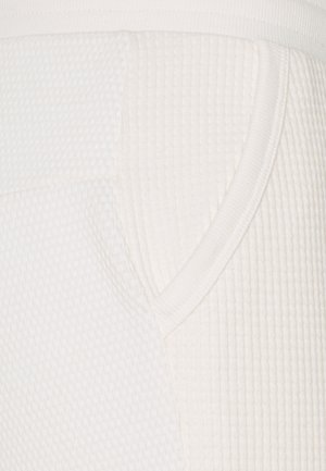 LUXE MIX - Pantaloni sportivi - pure/white