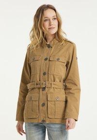 DreiMaster - Short coat - dunkelsand - 0