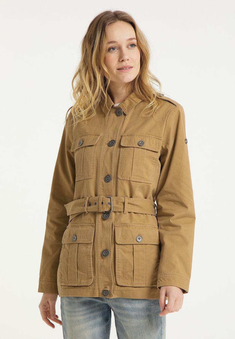 DreiMaster - Short coat - dunkelsand