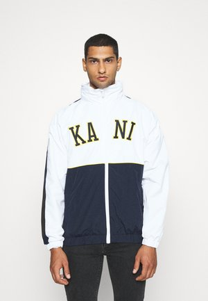COLLEGE BLOCK WINDRUNNER - Veste légère - white