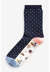 Next - FLORAL ANKLE SOCKS 5 PACK - Socks - blue - 3