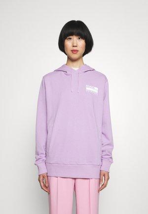 Sweat à capuche - bright purple