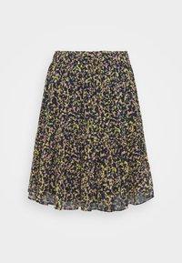 Scotch & Soda - PRINTED SHORTER LENGTH SKIRT - Mini skirt - multicoloured - 0