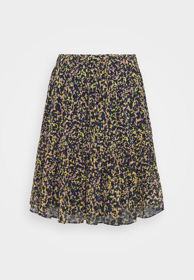Scotch & Soda - PRINTED SHORTER LENGTH SKIRT - Mini skirt - multicoloured