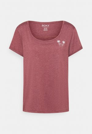 COCKTAIL HOUR - Print T-shirt - tibetan red
