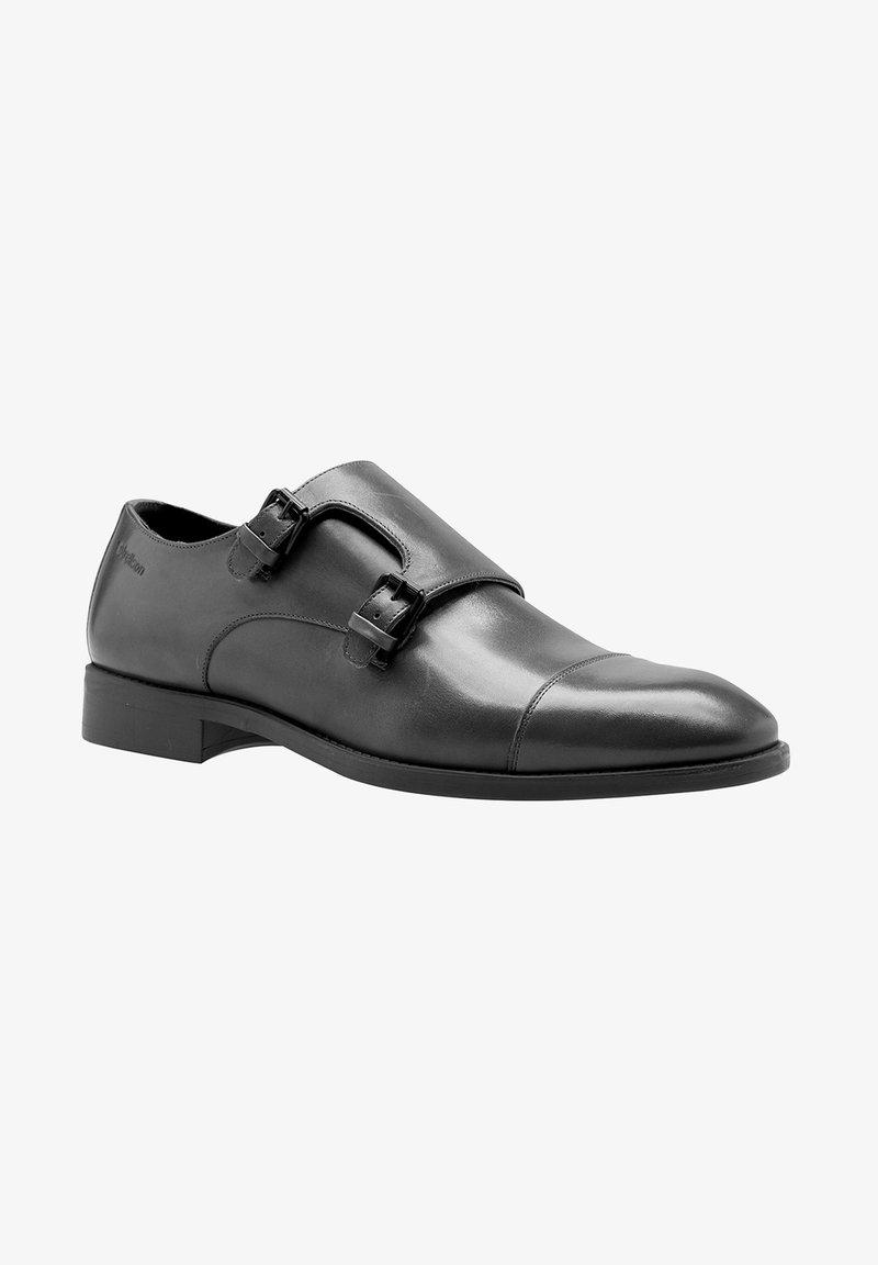 Strellson Premium - Smart slip-ons - black