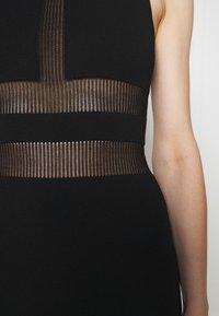 Hervé Léger - HERVE LEGER X JULIA RESTOIN ROITFELD HALTER COLUMN DRESS - Cocktail dress / Party dress - black - 6