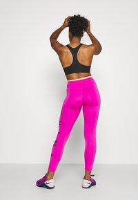 Nike Performance - ONE 7/8  - Leggings - fire pink/topaz gold/black - 2