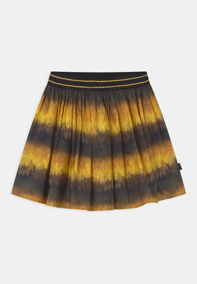 BRENDA - Mini skirt - black
