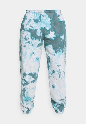 TRACK LEGACY TIE DYE - Tracksuit bottoms - blue