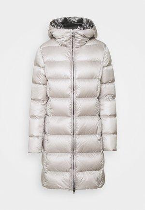 MID LENGTH MATTE - Short coat - cold /dark steel