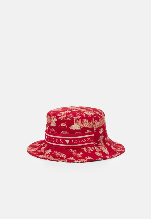BUCKET HAT UNISEX - Chapeau - red