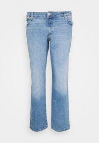 JJIMIKE JJICON - Straight leg jeans - blue denim