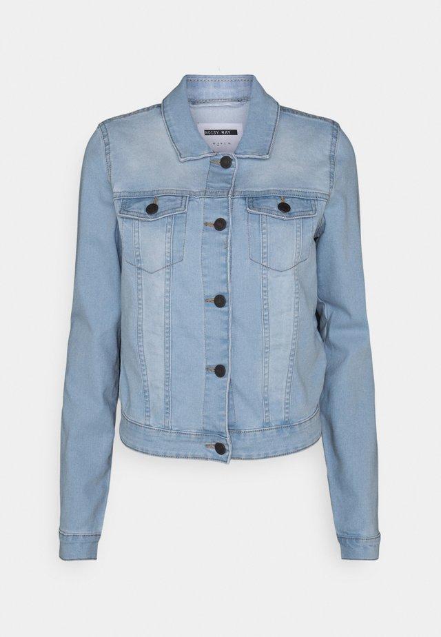 NMDEBRA JACKET - Veste en jean - light blue denim