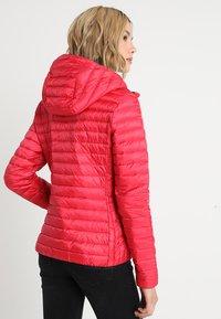 Superdry - CORE DOWN HOODED JACKET - Down jacket - raspberry - 2