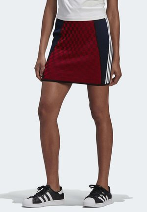 PAOLINA RUSSO - Pencil skirt - red