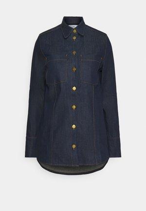 CLASSIC - Button-down blouse - dark blue