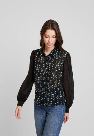CRINKLE FLORAL - Košile - multi/black