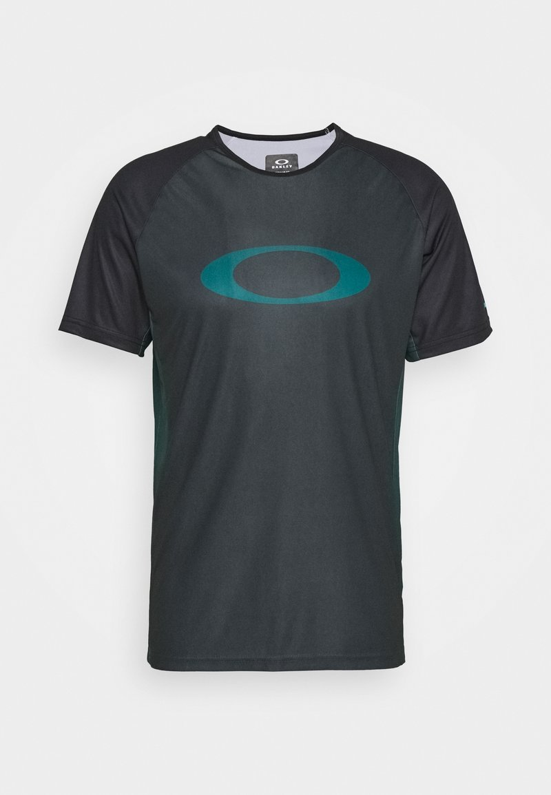 Oakley - TECH TEE - Print T-shirt - dull onix