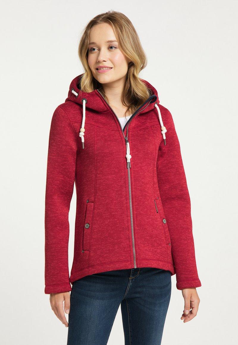 Schmuddelwedda - Fleece jacket - rot melange