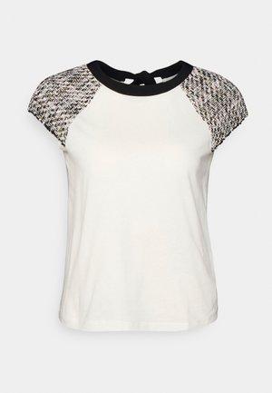 TWEELA - T-shirt print - blanc