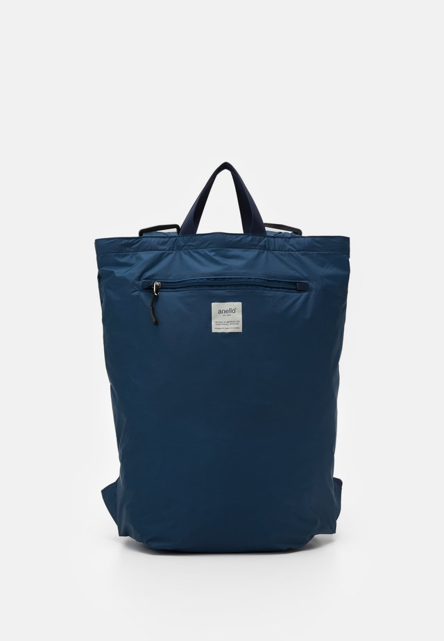 SIMPLE TOTE BACKPACK - Rugzak - navy