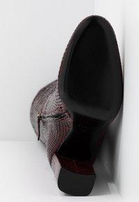 TWINSET - Højhælede støvler - beet red - 6