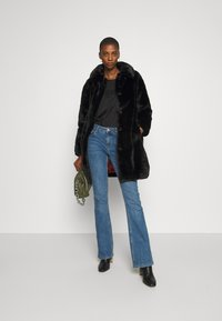 King Louie - BETTY COAT PHILLY - Classic coat - black - 1