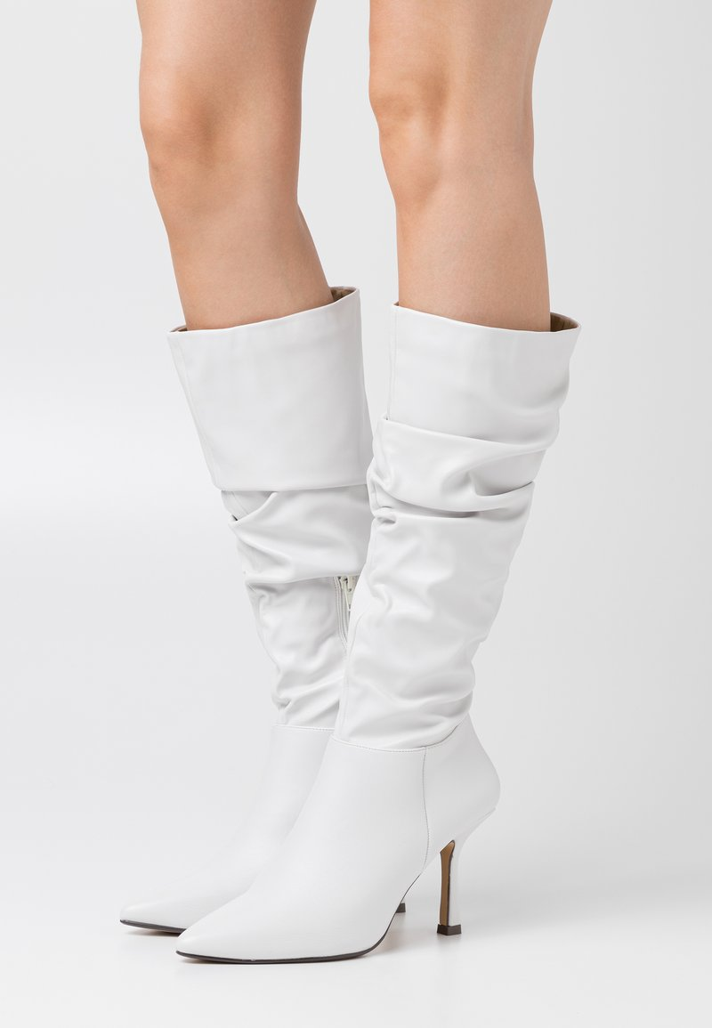 4th & Reckless - LIVVI - High heeled boots - white