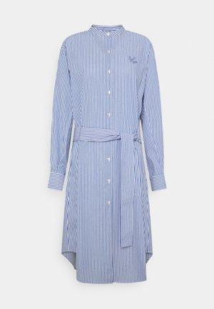 DRESS GOOD VIBE - Robe chemise - white/blue
