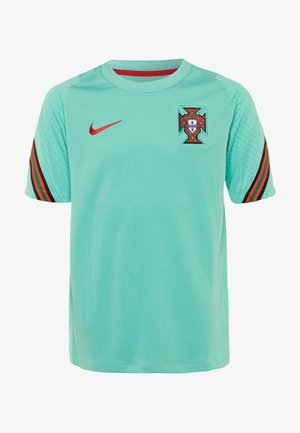 PORTUGAL UNISEX - National team wear - mint/sport red