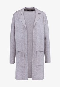 Vero Moda - VMTASTY FULLNEEDLE COATIGAN - Kardigan - medium grey melange - 4