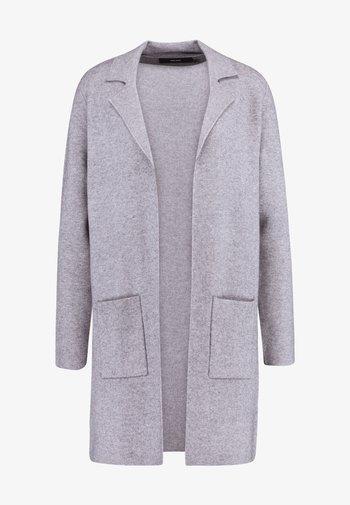 VMTASTY FULLNEEDLE COATIGAN - Cardigan - medium grey melange