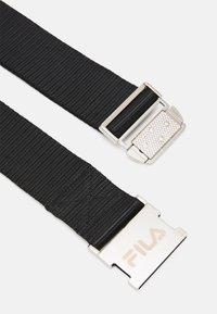 Fila - SNAP BUCKLE BELT UNISEX - Belt - black - 1