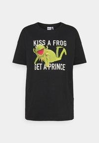 ONLY - ONLMUPPETS LIFE OVERSIZE - Print T-shirt - black - 3