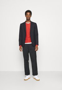 Selected Homme - SLHBUDDY CREW NECK - Jumper - ketchup - 1