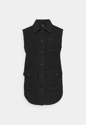 VEST FANNY - Waistcoat - black