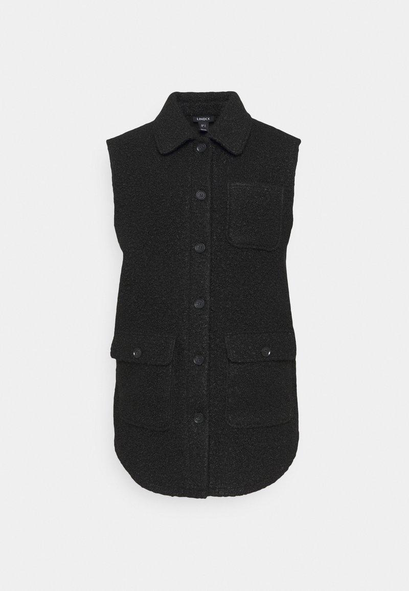 Lindex - VEST FANNY - Waistcoat - black