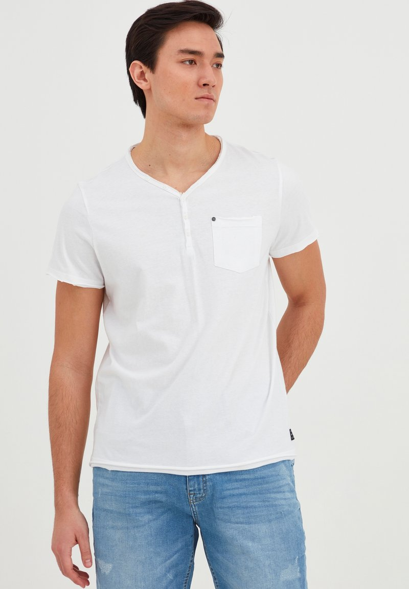 Blend - T-shirt - bas - bright white