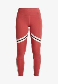 Nike Performance - ONE ICON - Leggings - cedar/metallic silver/black - 3