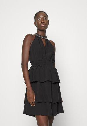 VMCIRKEL SHORT DRESS - Sukienka koktajlowa - black