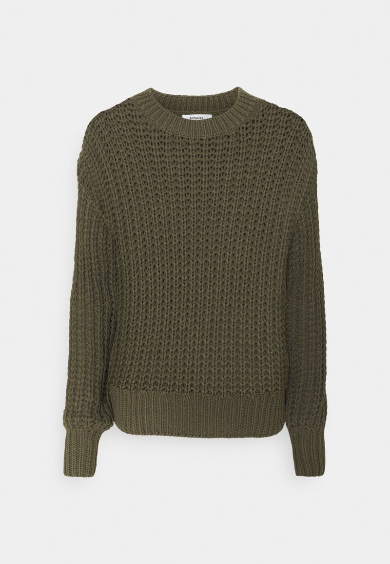 Moss Copenhagen - ARIELLA  - Jumper - grape leaf